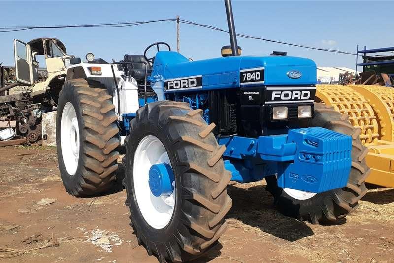 Ford Ford 7840 Powerstar SL 4x4 Tractors