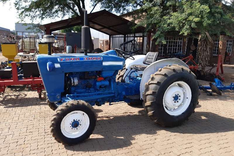 Ford Tractors Two wheel drive tractors Ford 3000