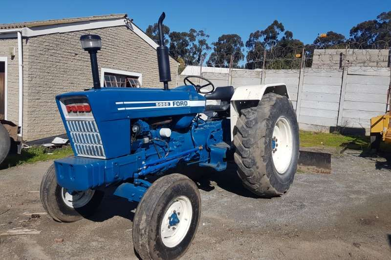 Ford Tractors Two Wheel Drive Tractors FORD 5000