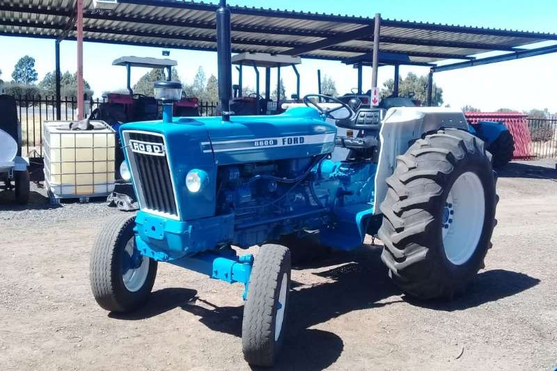 Ford Tractors Two Wheel Drive Tractors Ford 6600