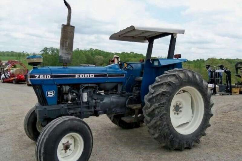 Ford Tractors Two Wheel Drive Tractors Ford 7610 1992