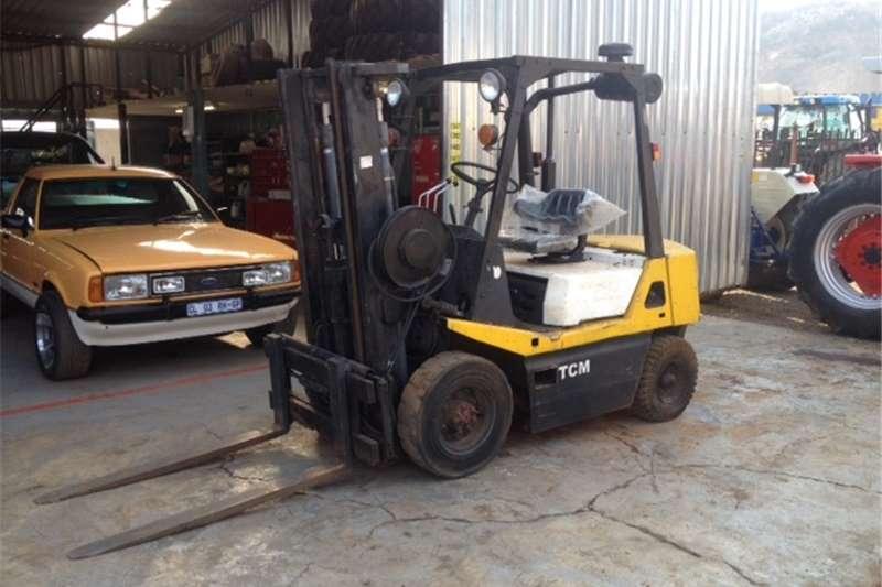 Forklift White TCM 3 Ton Pre Owned Forklift
