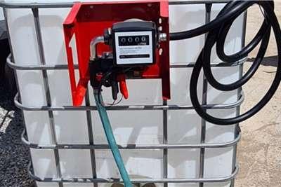 1000 Litre White Plastic Flow Bin Cube Fuel cubes