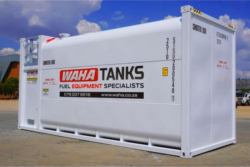 Fuel cubes 30,000 Litre Self Bunded Tanks 2020