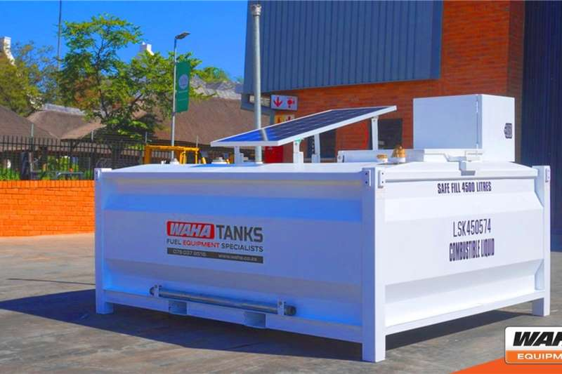 Fuel cubes 4,500 Litre Self Bunded Tanks 2020