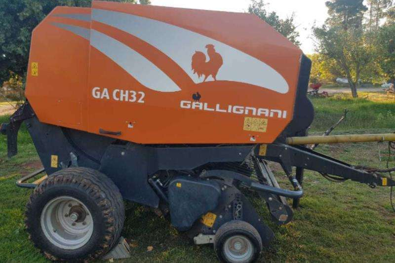 Gallignani Hay and Forage GA CH32 Baler