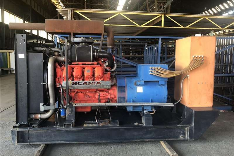 Gas generator 550 KVA Scania Generator For Sale
