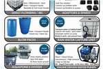 Gauteng: 1000Lt Water Transport Unit 220V / Rain H