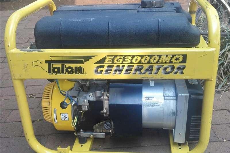 Generator Diesel generator 3 KW TALON GENERATOR FOR SALE