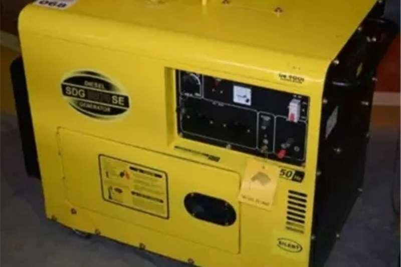 Generator Diesel generator 7kw Silent diesel generator
