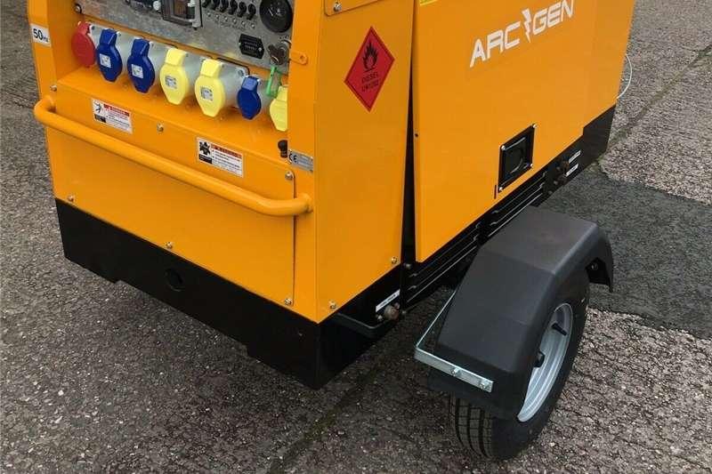 Generator Diesel generator Arcgen Powermaker 15 KVA Multi Voltage Diesel Gene