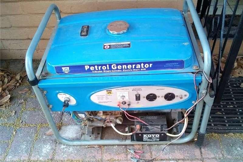 Generator Diesel generator Fragram 6.5Kva generator