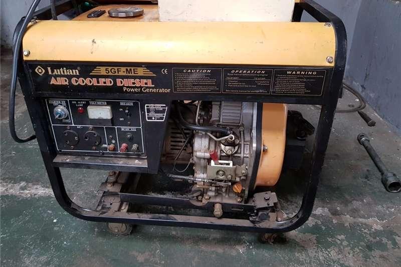 Generator Diesel generator Lutian 5 kva diesel generator