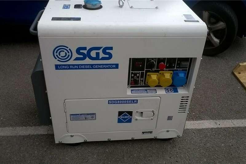 Generator Diesel generator New SGS Long Run Silent Diesel Generator 6.5KVA ne