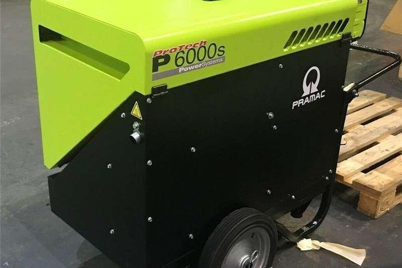 Generator Diesel generator Pramac 5.9kVA 5.4kw Portable Diesel Generator 230V