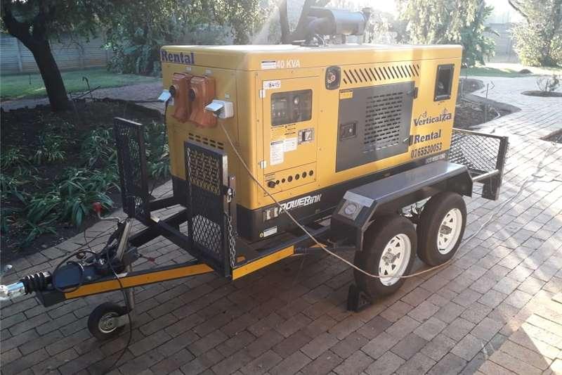 Generator Diesel generator VerticalZA – 3 Phase Generator 400/230v