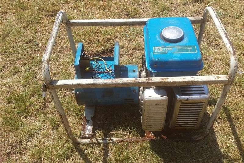 Generator Petrol generator 5000 watt krag opwekker