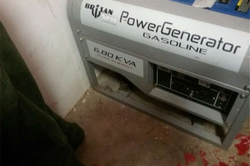 Generator Petrol Generator Brisan 6.80 KVA Petrol Generator