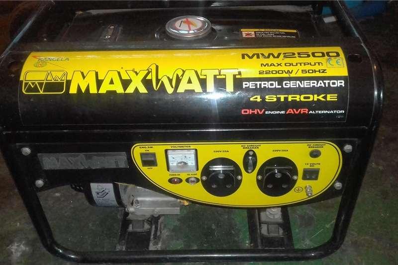 Generator Petrol generator Maxwatt Generator for sale