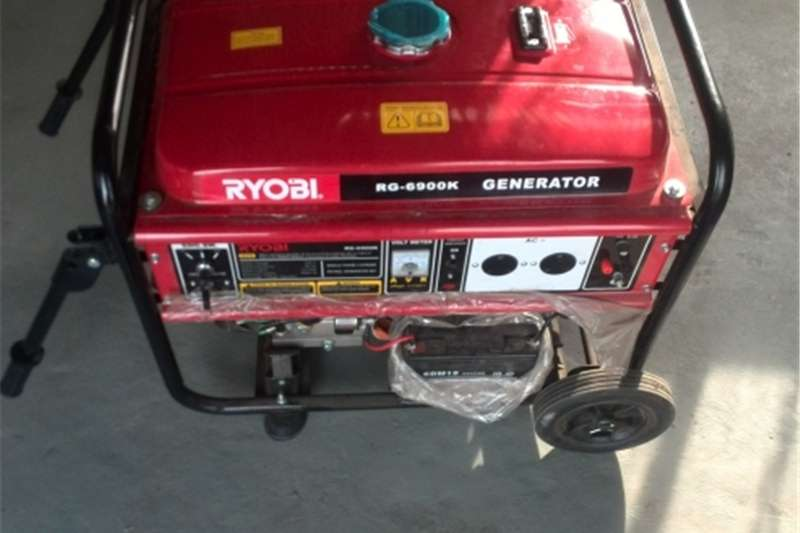 Generator Petrol generator RG6900K 5.5 kva Petrol Generator for hire