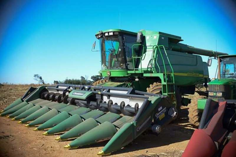 Geringhoff Combine harvesters and harvesting equipment 2014