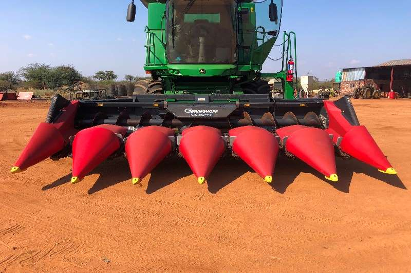 Geringhoff Combine harvesters and harvesting equipment Maize heads Mais Star 2012
