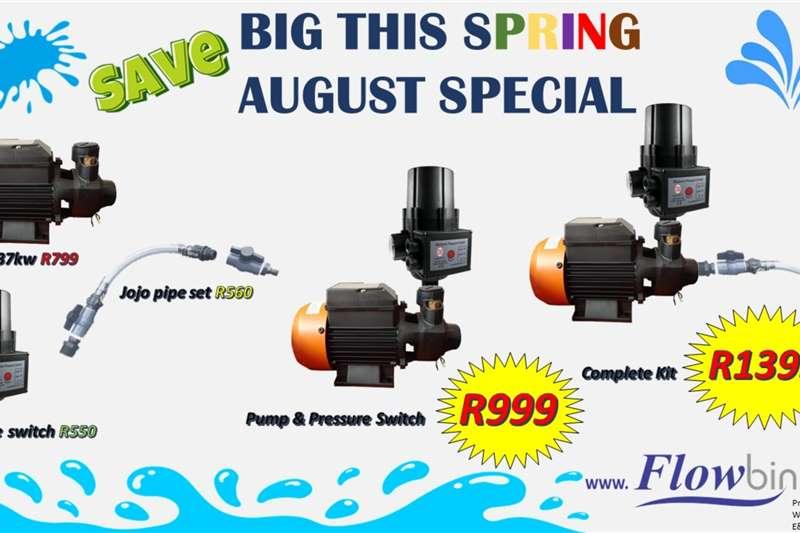 Graanland 0.37km water pump special Electric motors / elektriese motors