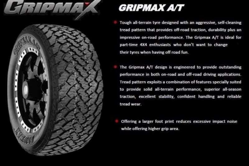 Gripmax Tyres Gripmax All Terrain Tyres
