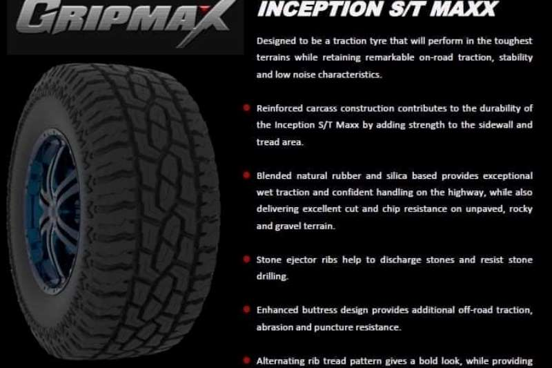Gripmax Tyres Gripmax Inception S/T Max Tyres