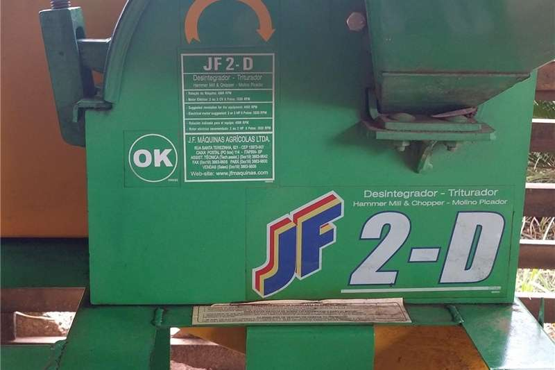 Hammer mills Diesel hammer mills Hammer Mill & Chopper JF 2D