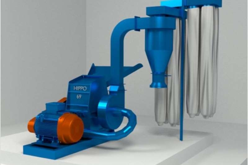 Hammer mills Electrical hammer mills S624 Blue Hippo Hippo 69 Hammermill 45kW Electric
