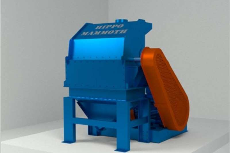 Hammer mills Electrical hammer mills S629 Blue Hippo Hippo Mammoth Hammermill 75kW Elec