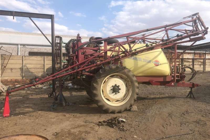 Hardi Sprayers and Spraying Equipment Trailer Mounted Sprayers Used Hard Ranger 2500L
