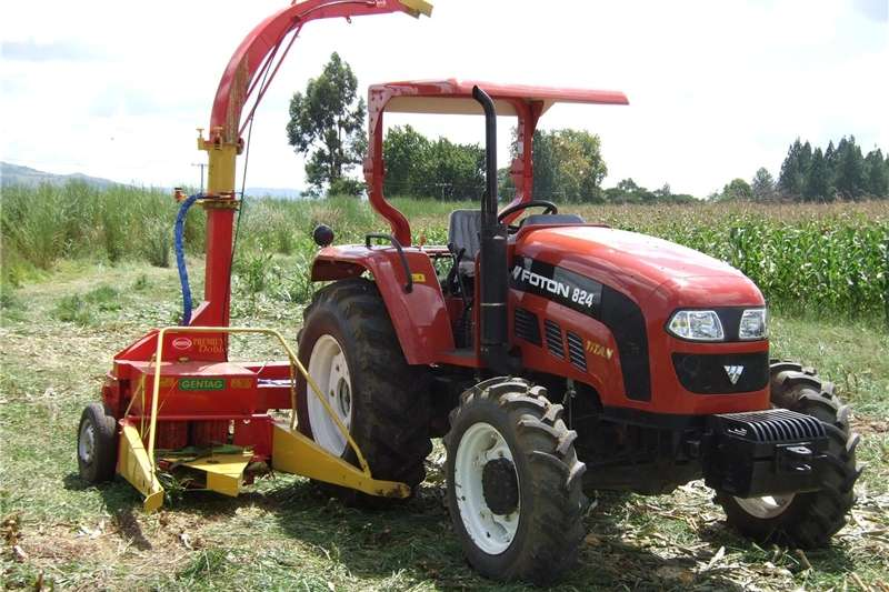 Harvesting equipment Forage harvesters Double Row Menta Mit Forage Harvester.