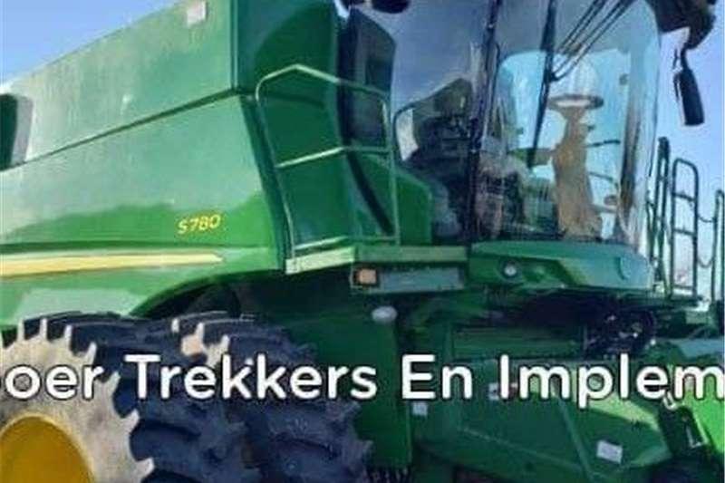 Forage harvesters John Deere s780 Stroper Harvesting equipment