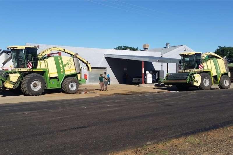 Forage harvesters Krone John Deere Claas Kerwer Forager Harvesting equipment