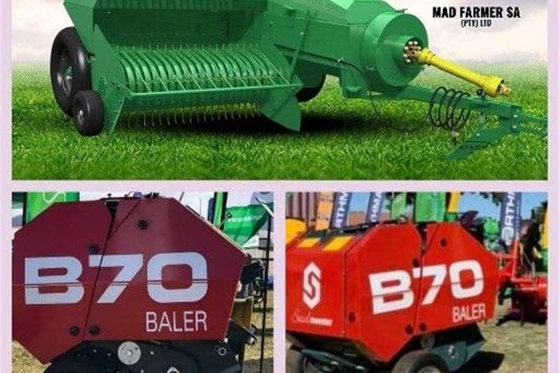 Grain harvesters Balers Available Harvesting equipment