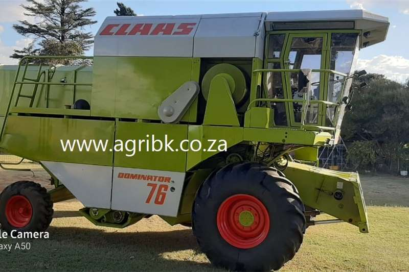 Grain harvesters Claas Dominator 76 Harvesting equipment