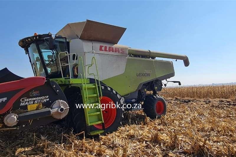 Grain harvesters Claas Lexion 760 Harvesting equipment