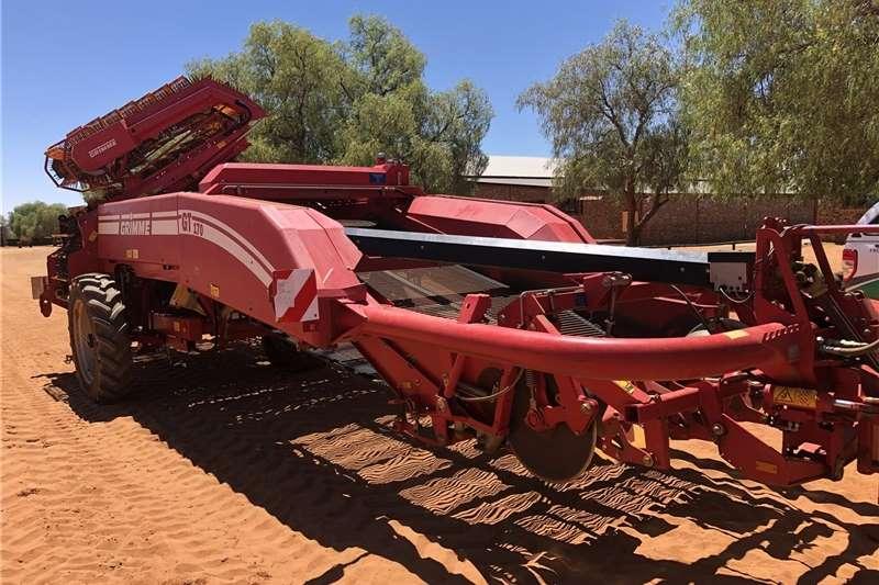 Grain harvesters Grimme GT 170 M Harvesting equipment