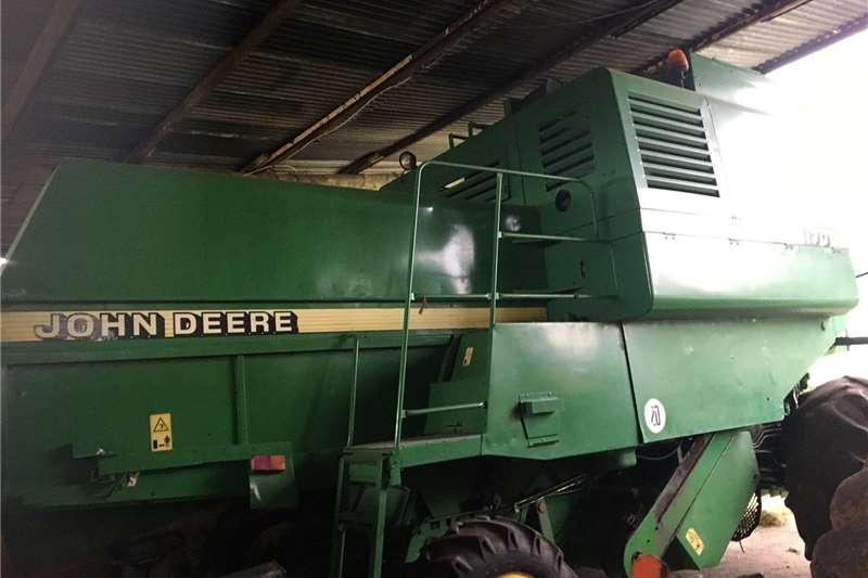 Grain harvesters John Deere 1170 Havester Harvesting equipment