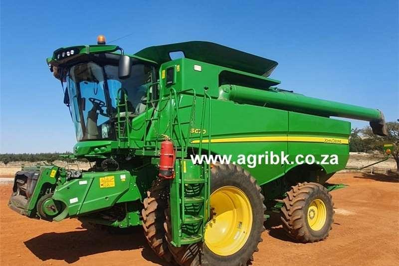 Grain harvesters John Deere S 670 Harvesting equipment