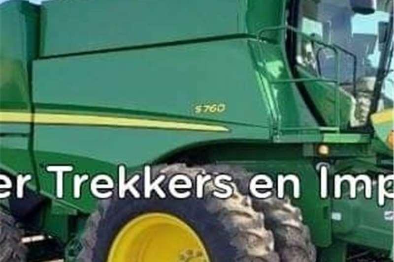 Grain harvesters John Deere S760 Stroper Harvesting equipment