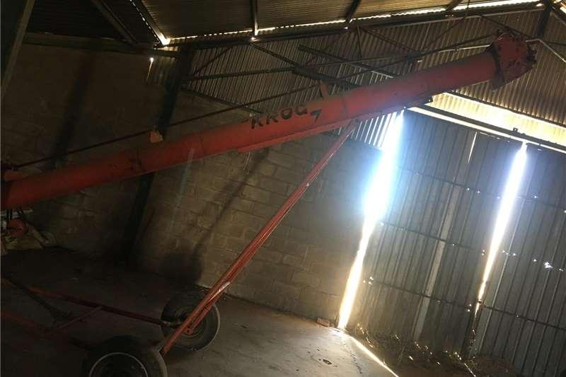 Grain harvesters Krog auger Harvesting equipment