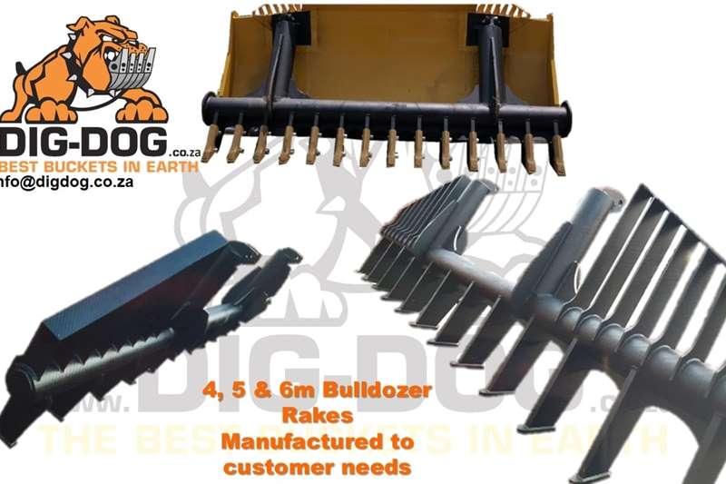 Harvesting equipment Grain headers Bulldozer Rake / Hark