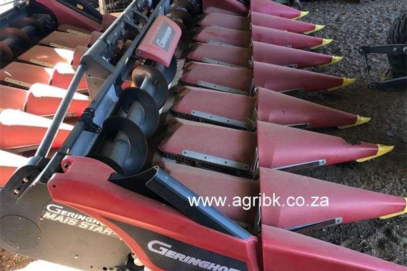 Harvesting equipment Grain headers Geringhoff 8ry 76cm 2017