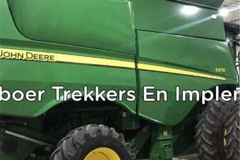Grain headers John Deere s670 Harvesting equipment