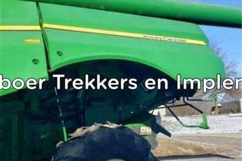 Grain headers John Deere s670 Stroper Harvesting equipment