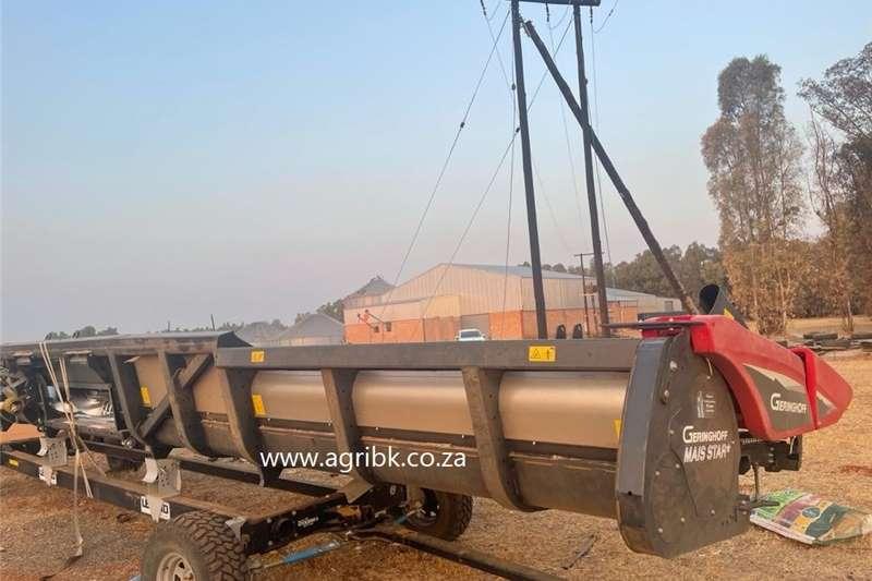 Maize headers Geringhoff MS 1200 Harvesting equipment
