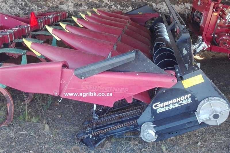 Maize headers Geringhoff MS 800 Harvesting equipment